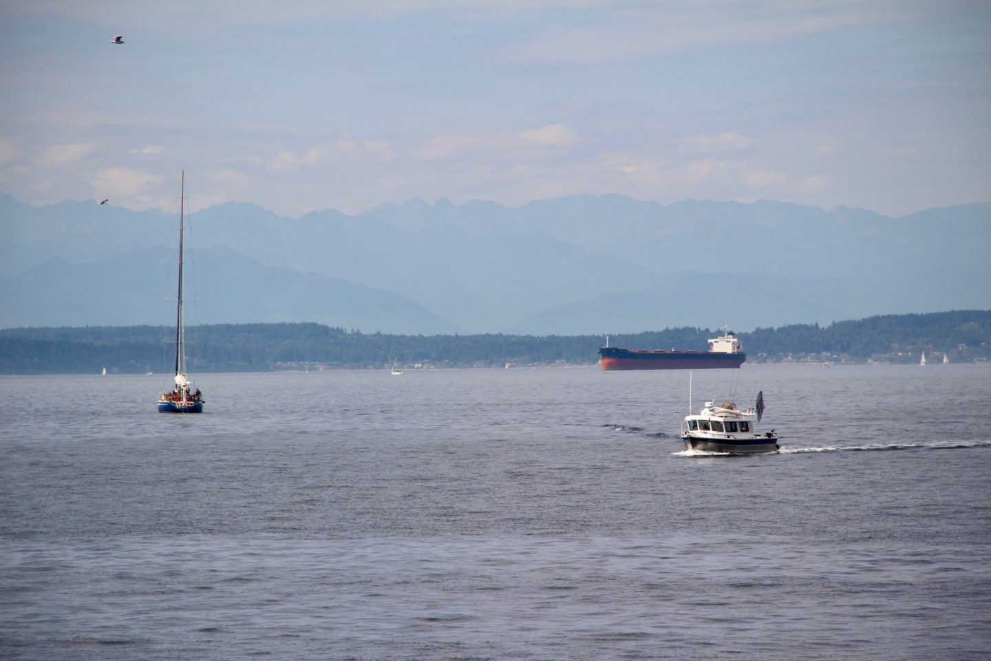 Puget Sound in Seattle, Washington - The Spectacular Adventurer