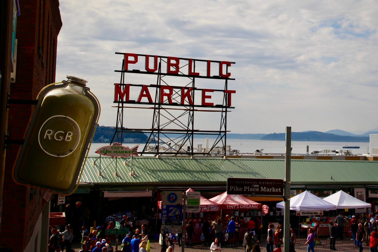 Pike Place Public Market Seattle, Washington - The Spectacular Adventurer