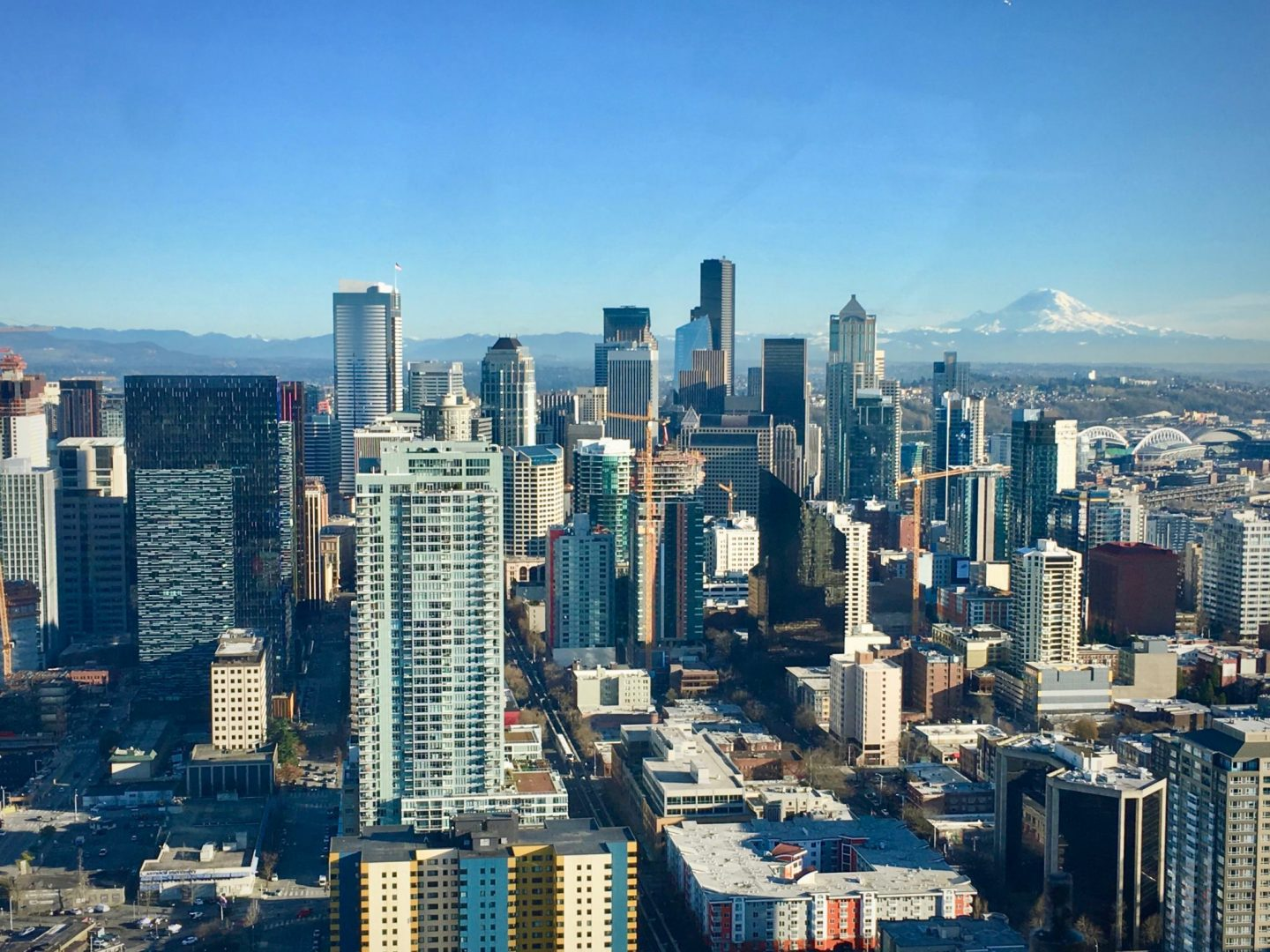Seattle, Washington (view from Space Needle) - The Spectacular Adventurer