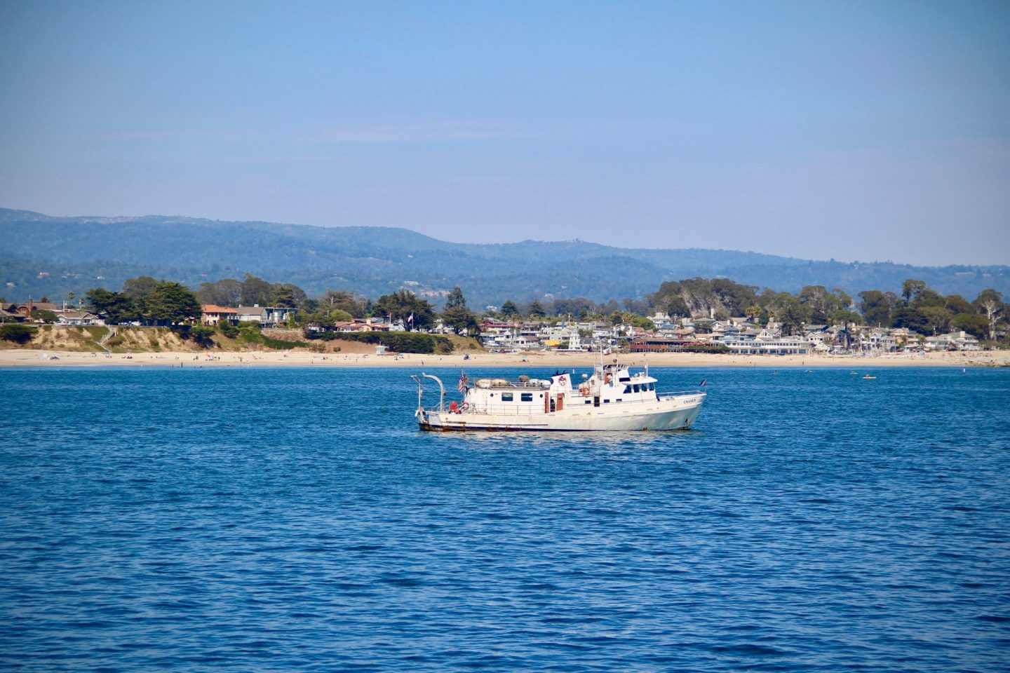 Santa Cruz Harbor, Santa Cruz, California - The Spectacular Adventurer