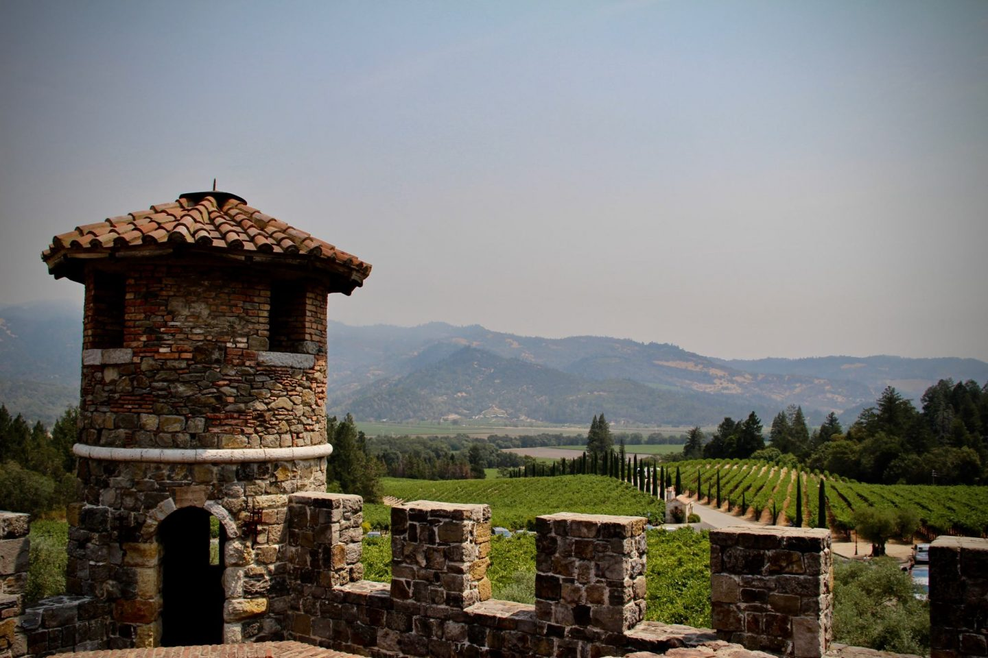Napa Wine ... Castello di Amorosa ... The Spectacular Adventurer
