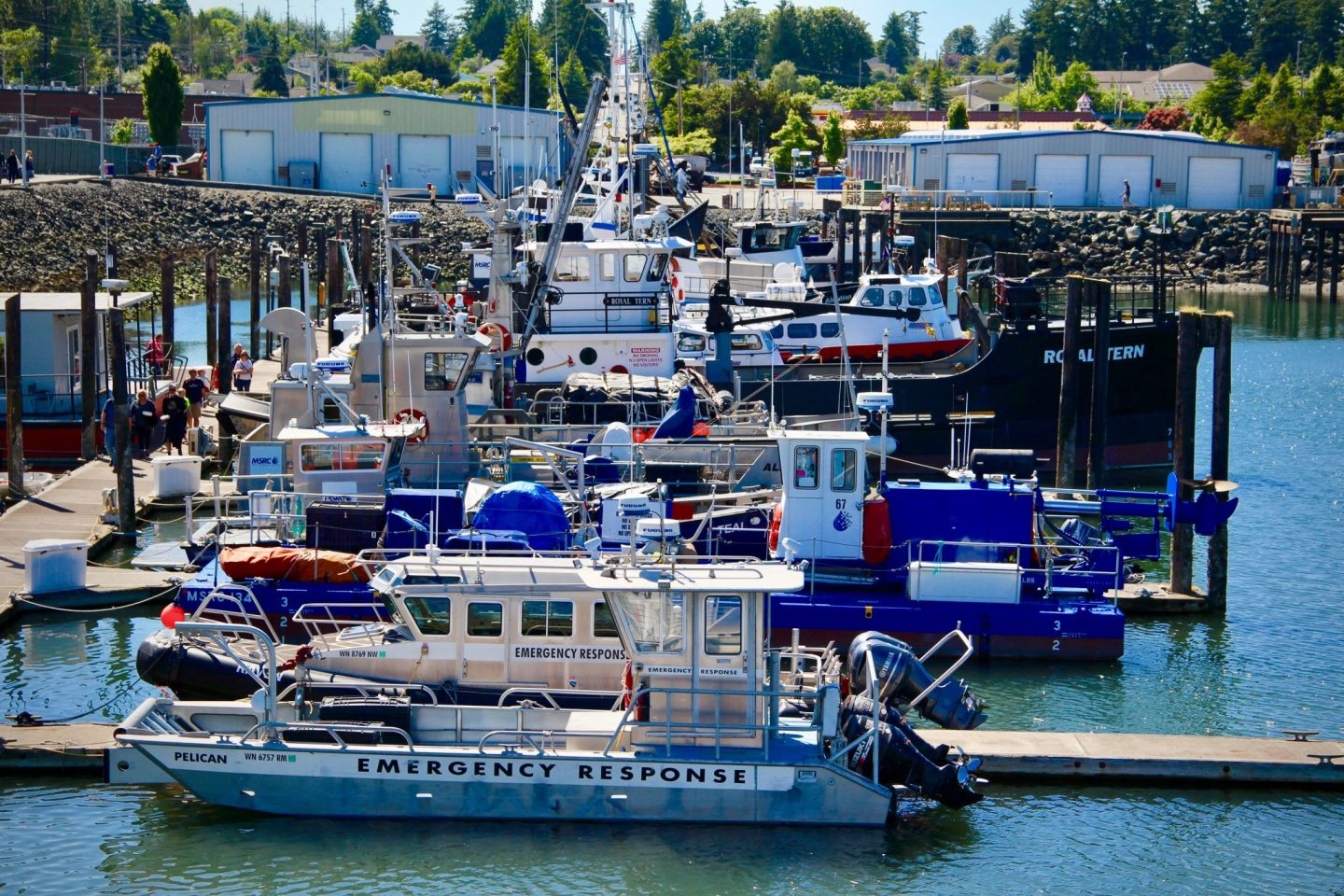 Docks of San Juan Islands, Washington | The Spectacular Adventurer