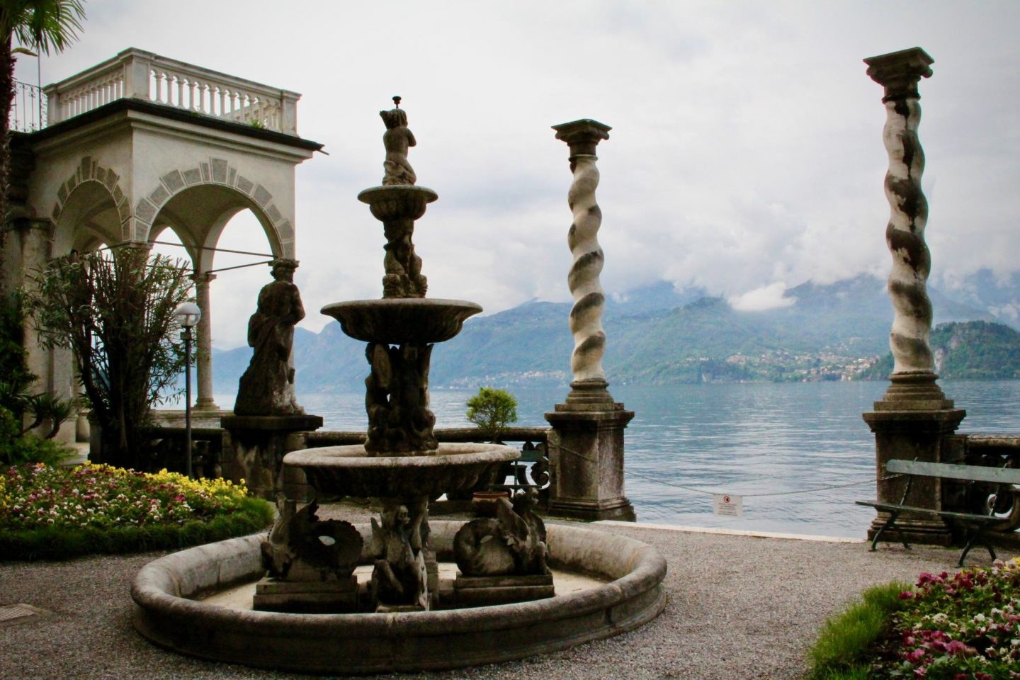 What to do Lake Como ... Villa Monastero Pillars Verenna, Lake Como ... The Spectacular Adventurer
