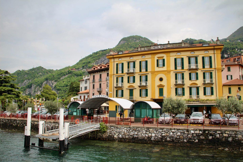 What to do in Lake Como ... Verenna Dock, Lake Como Italy ... The Spectacular Adventurer