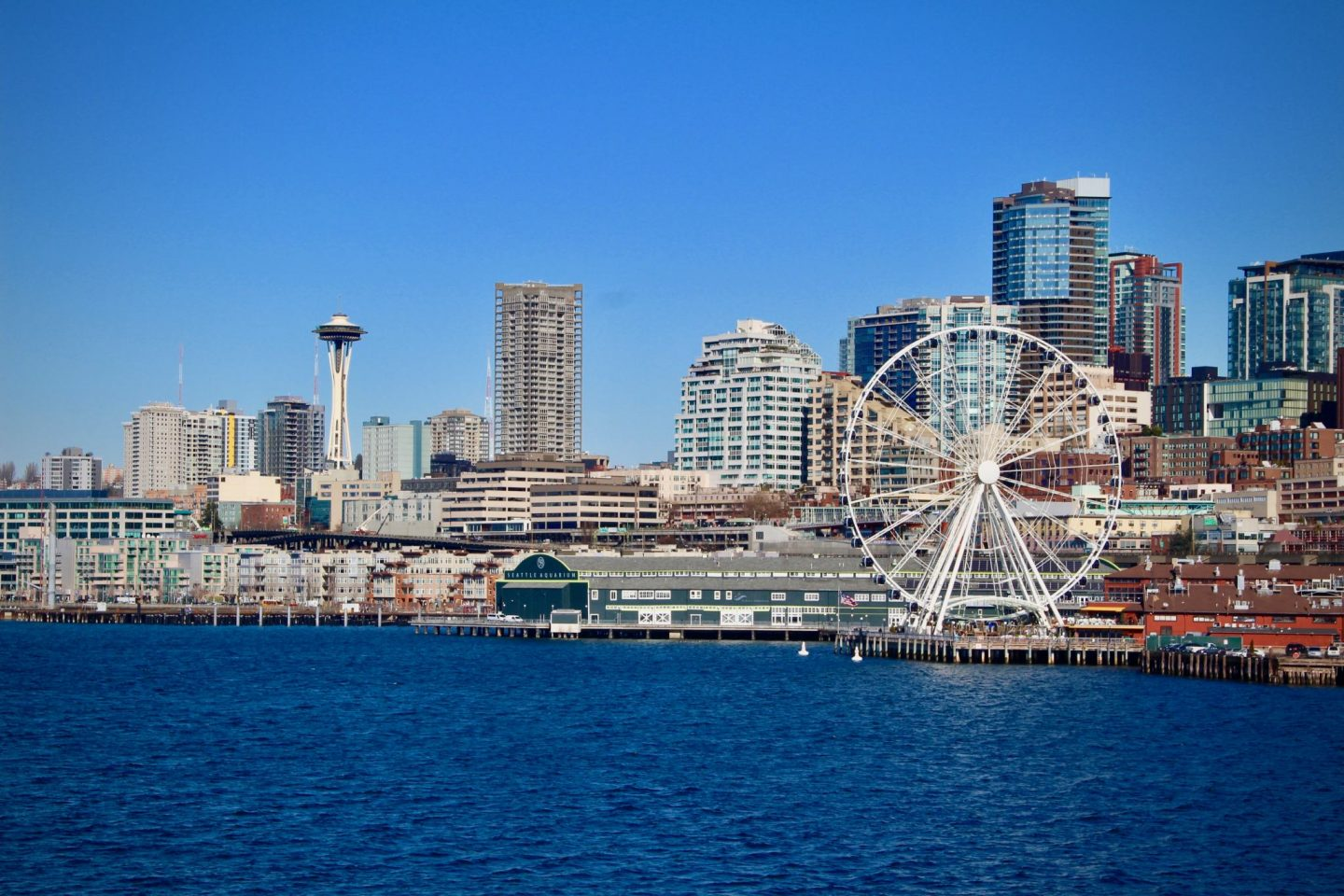 Seattle skyline view, Washington - The Spectacular Adventurer