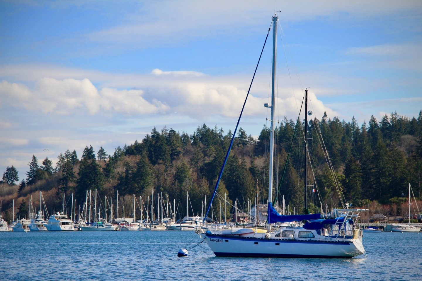 Bainbridge Island sailboat, Washington - The Spectacular Adventurer
