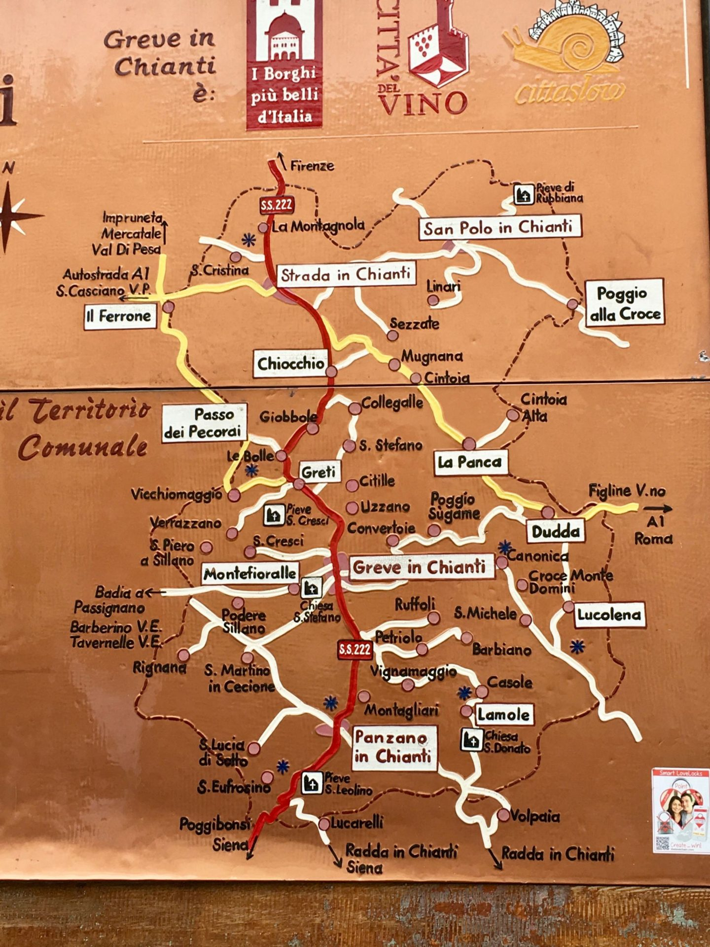 Chianti Wine Map ... Tuscany, Italy ... The Spectacular Adventurer