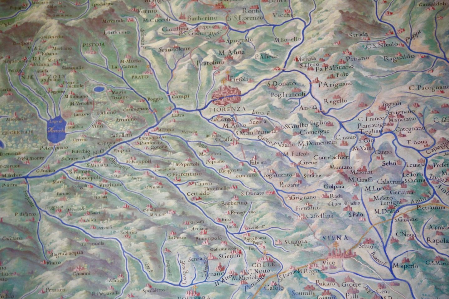 Vatican Museum Map of Tuscany ... 24 hours in Rome ... The Spectacular Adventurer