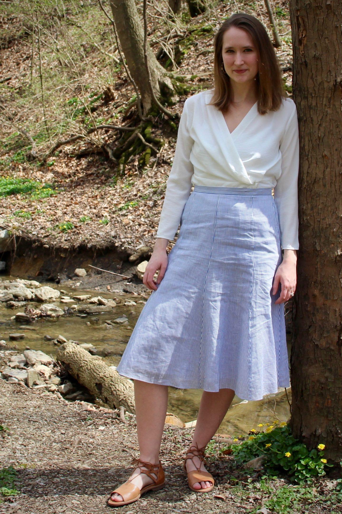 Midi Skirt Easter Style ... The Spectacular Adventurer