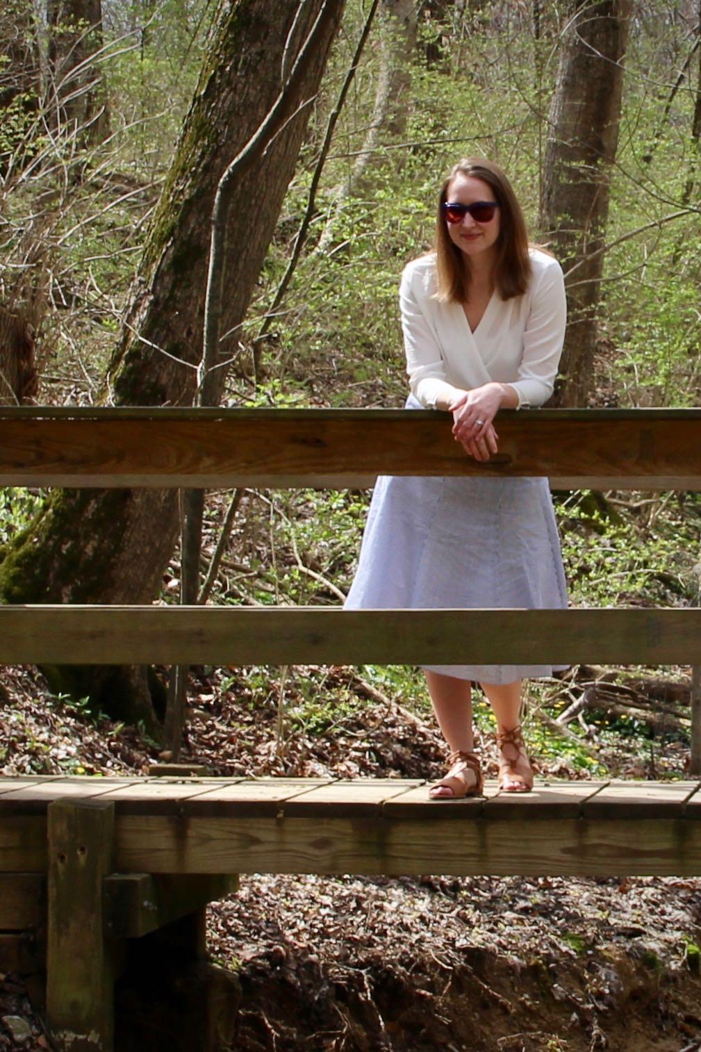 Midi Skirt Spring Style ... The Spectacular Adventurer