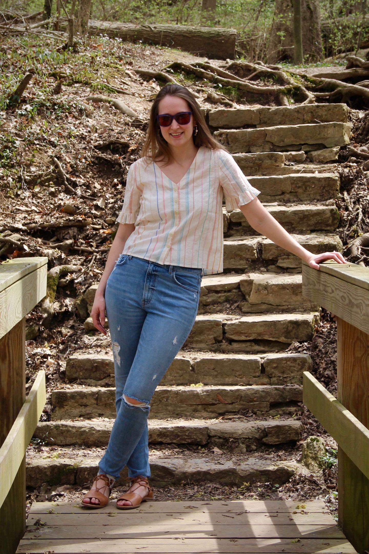 Classic Spring Style ... Cincinnati Parks ... The Spectacular Adventurer