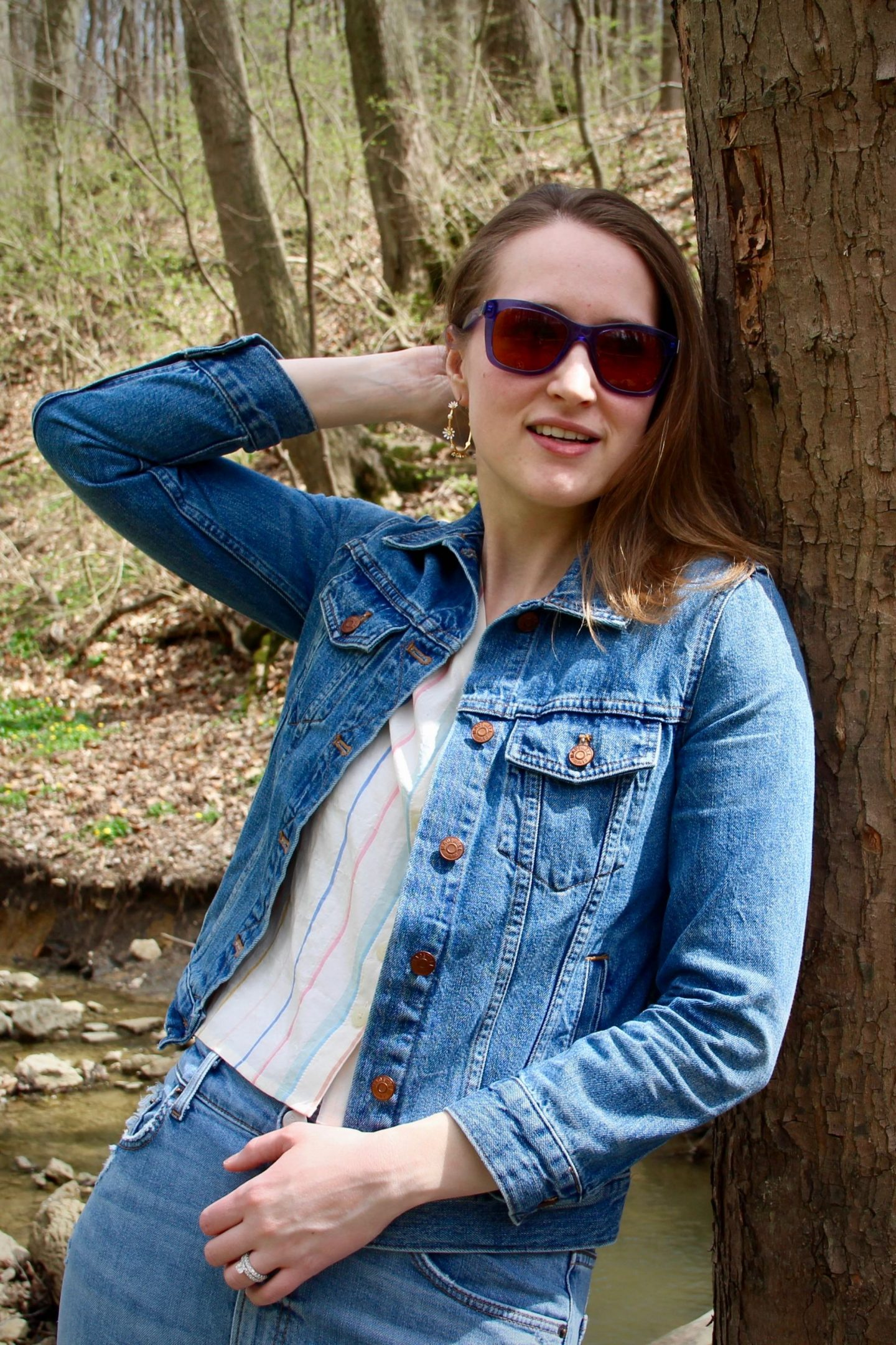 Denim Jacket Spring Style ... The Spectacular Adventurer
