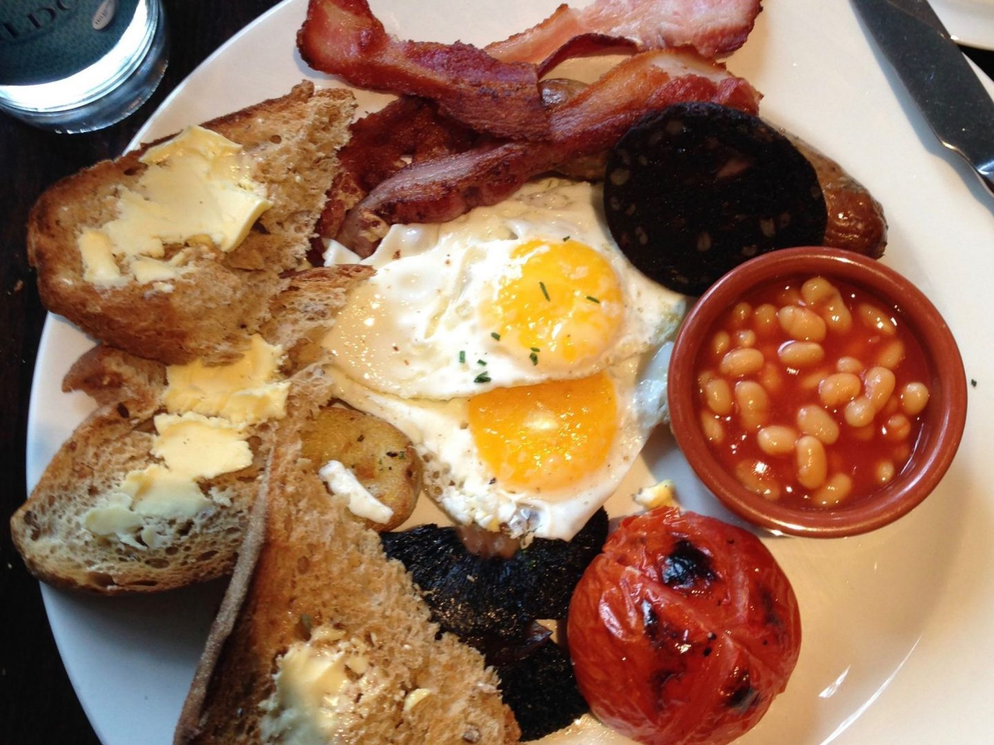 Traditional English Breakfast | London Travel Guide | The Spectacular Adventurer