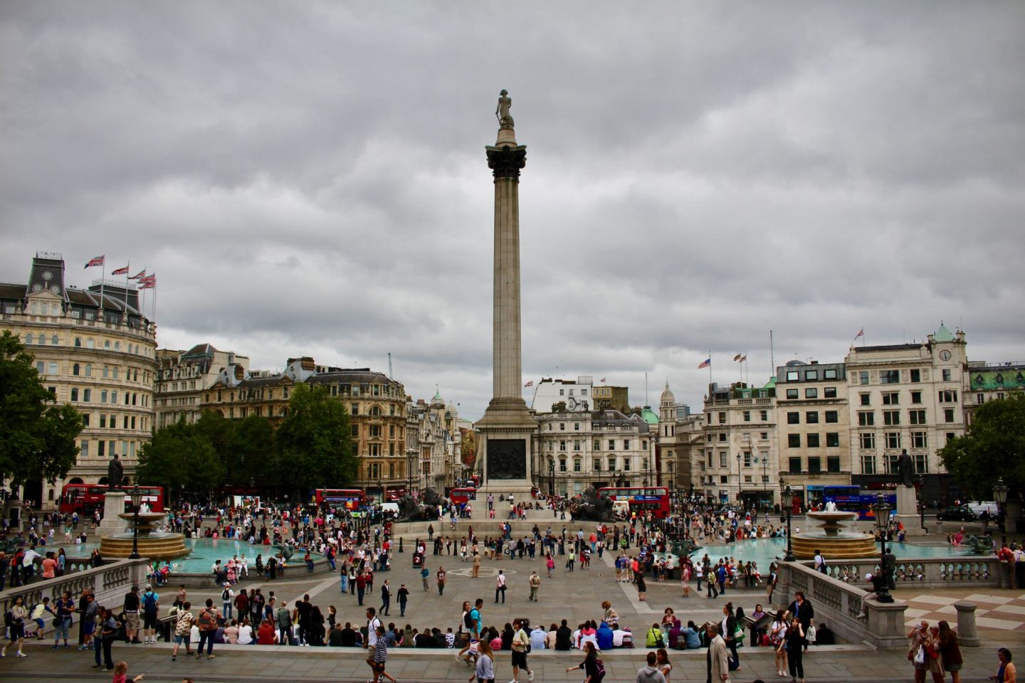 Trafalgar Square | 7-day London Itinerary | The Spectacular Adventurer