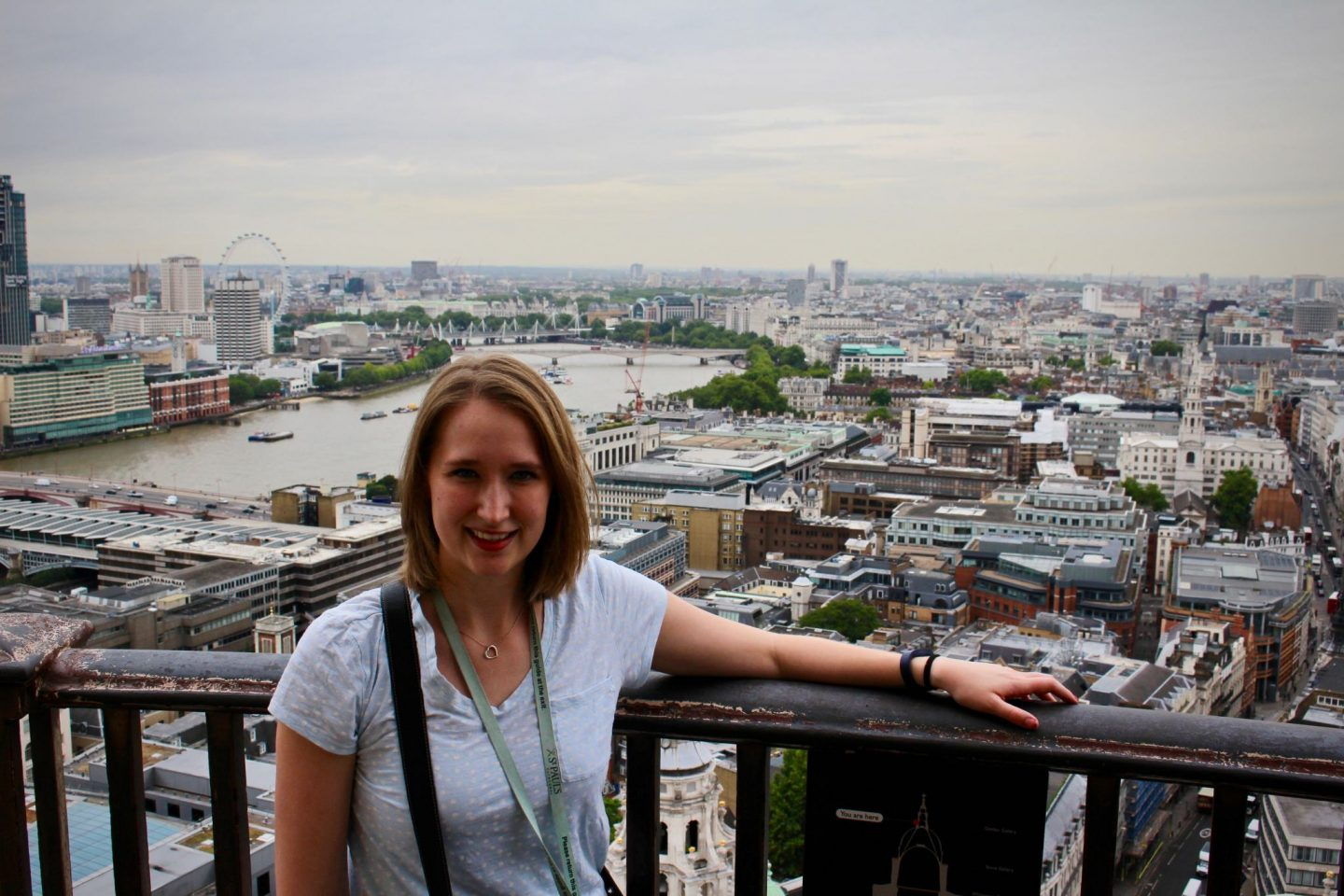 View from Golden Level | Visiting St. Paul's Cathedral | The Spectacular Adventurer