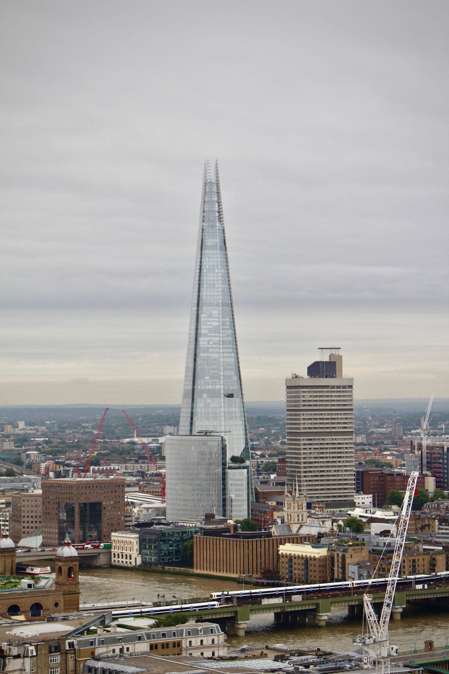 The Shard ... London St. Pauls Cathedral ... The Spectacular Adventurer