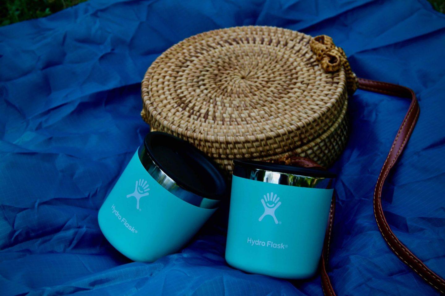 Straw Purses & Hydro Flask Cups for Summer Picnics ... The Spectacular Adventurer