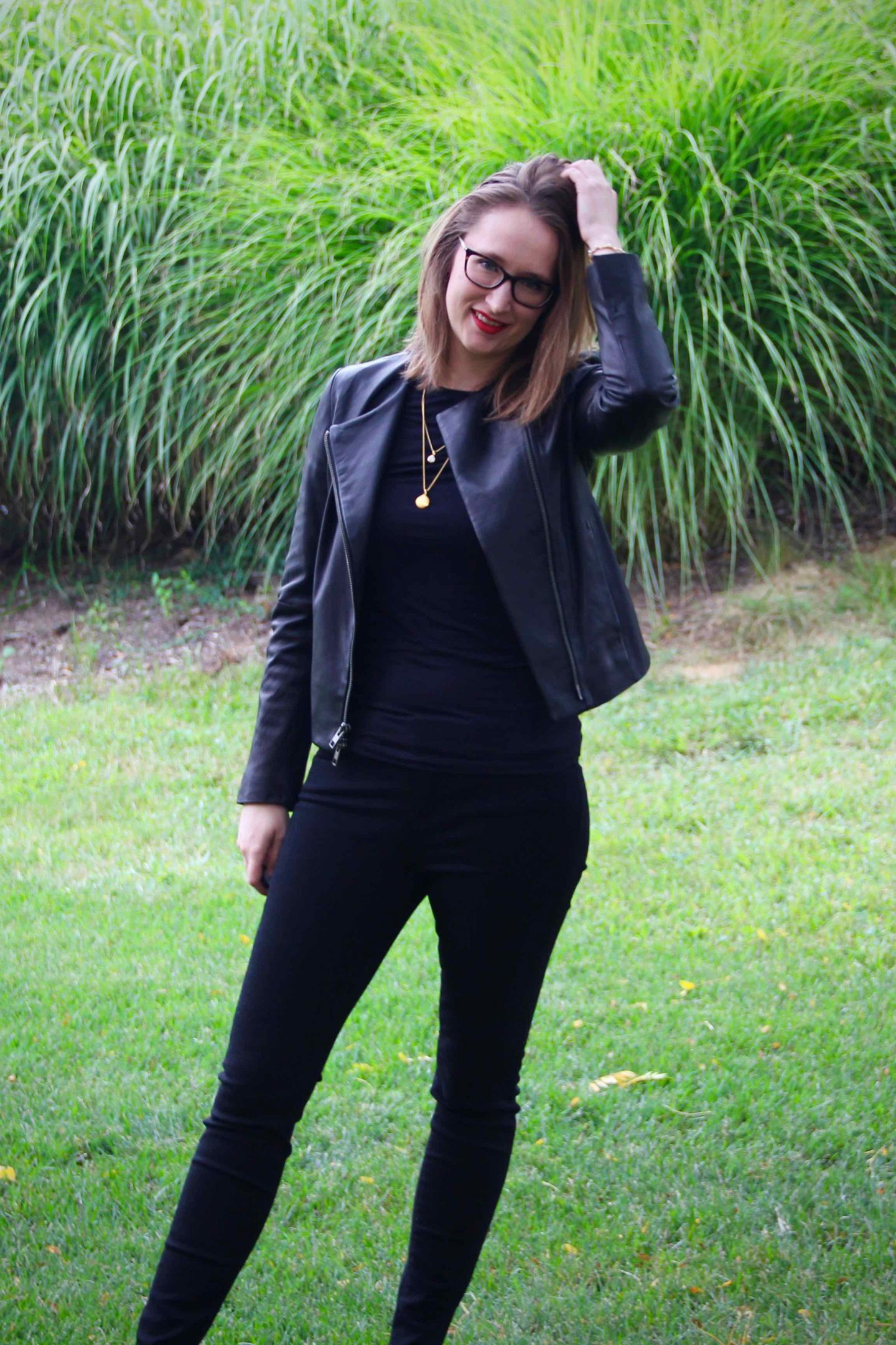 All Black Leather Style | 3 Ways to Style a Leather Jacket | The Spectacular Adventurer