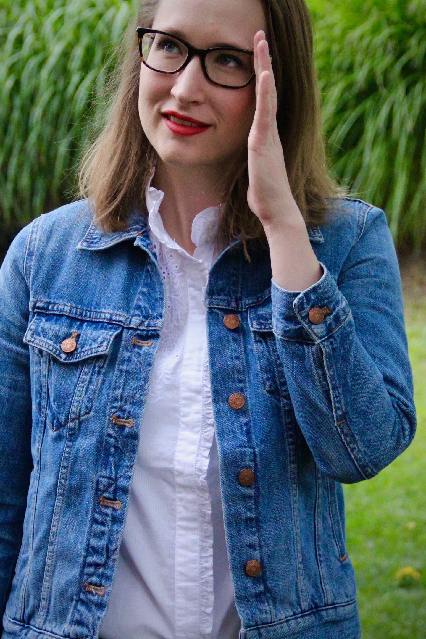 Jean Jacket   Fall Style   The Spectacular Adventurer