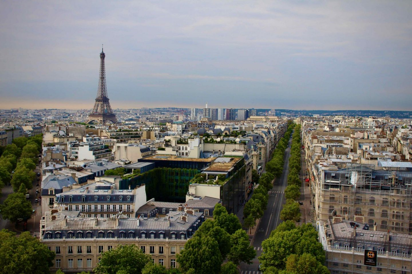 Arc de Triomphe View | Strolling the Champs-Elysées in Paris | The Spectacular Adventurer