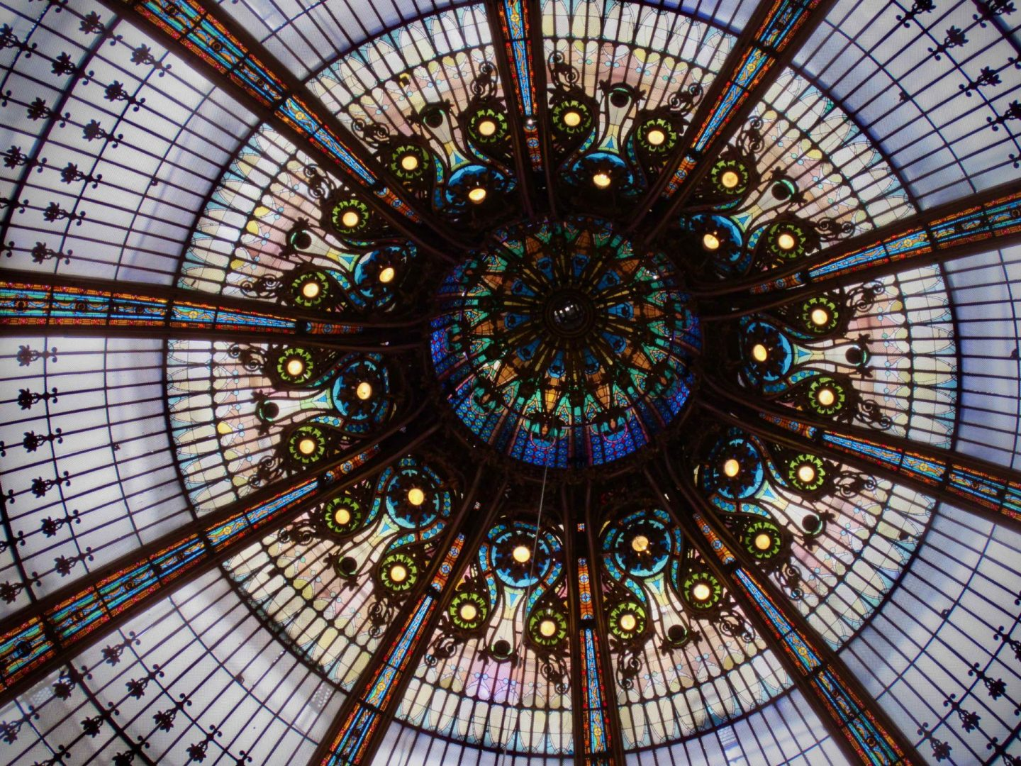 Galeries Lafayette Ceiling | Exploring Montmartre in Paris Day 4 | The Spectacular Adventurer