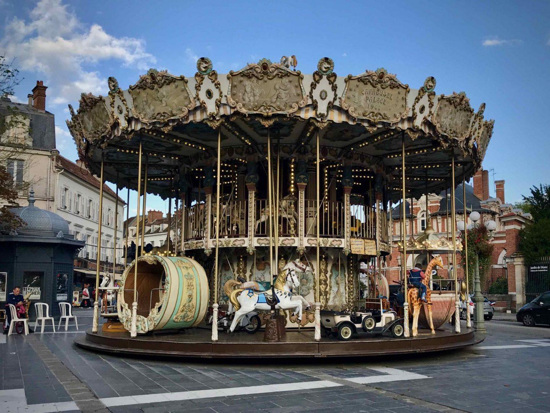 Fontainebleau Carousel | Fontainebleau France | The Spectacular Adventurer