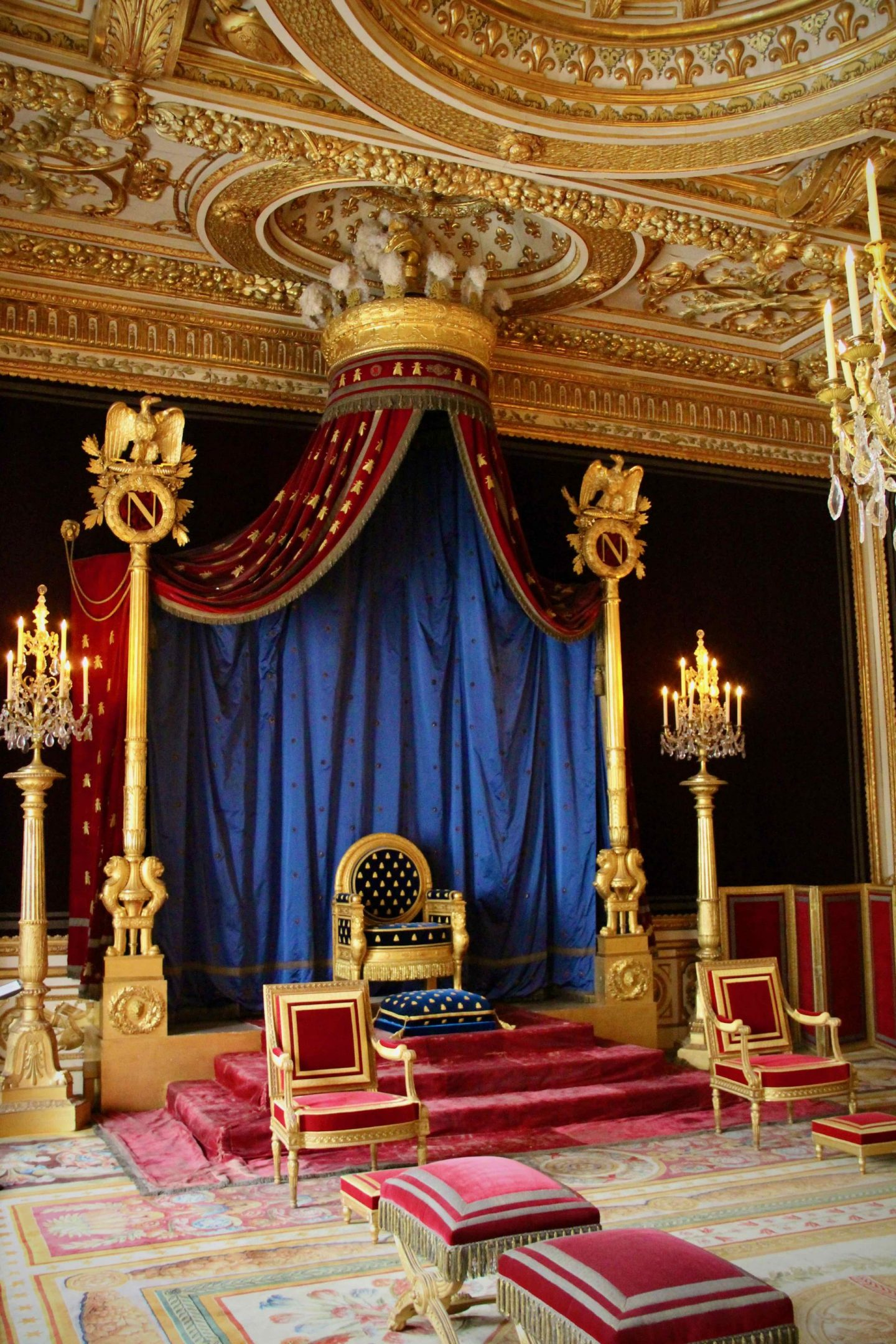 Fontainebleau Chateau Thrown Room | Fontainebleau Travel Guide | The Spectacular Adventurer