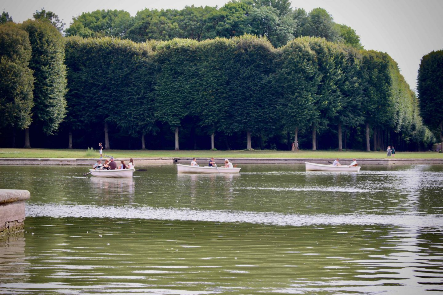 Row Boats on the Grand Canal in Versailles | The Spectacular Adventurer