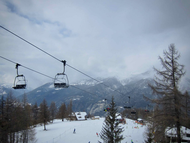 Ski Lift at Via Lattea in the Italian Alps  | Bucket List Adventure | The Spectacular Adventurer