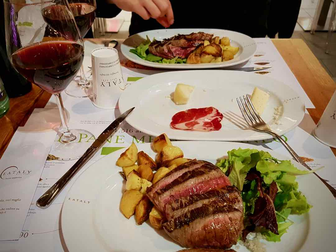 Eatly Dinner | Torino Italy Travel Guide | The Spectacular Adventurer