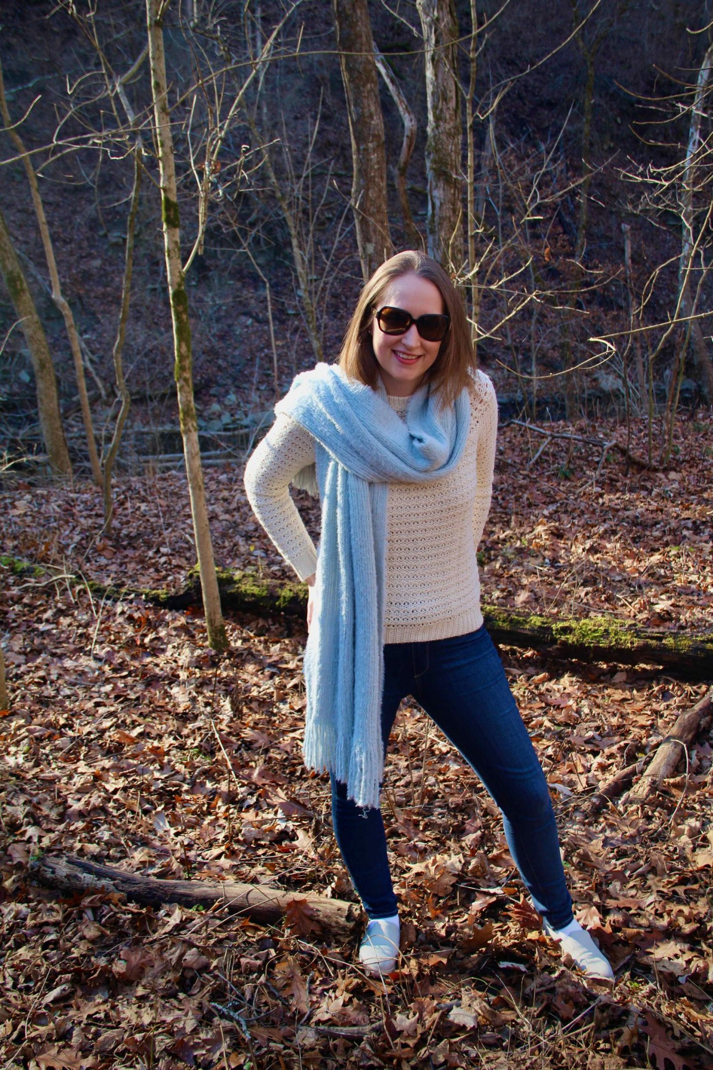 My Favorite Everyday Winter Sweater with Winter Scarf | The Spectacular Adventurer