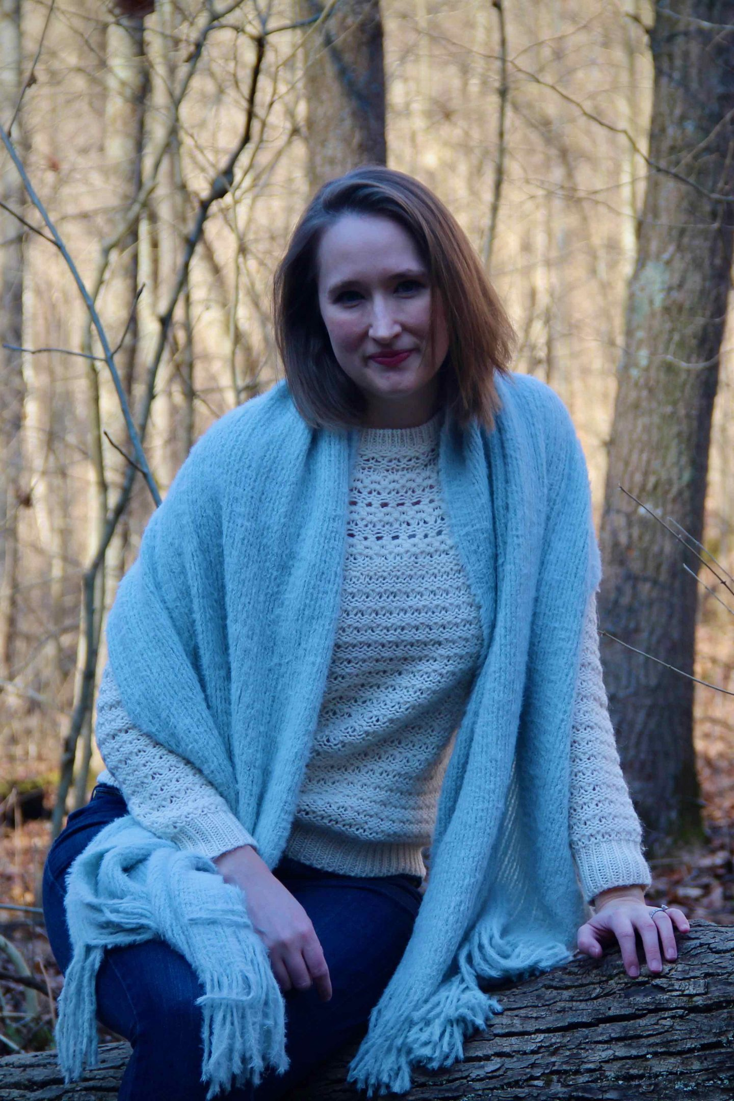 Walk in the Wood Everyday Adventure | My Favorite Everyday Winter Sweater | The Spectacular Adventurer