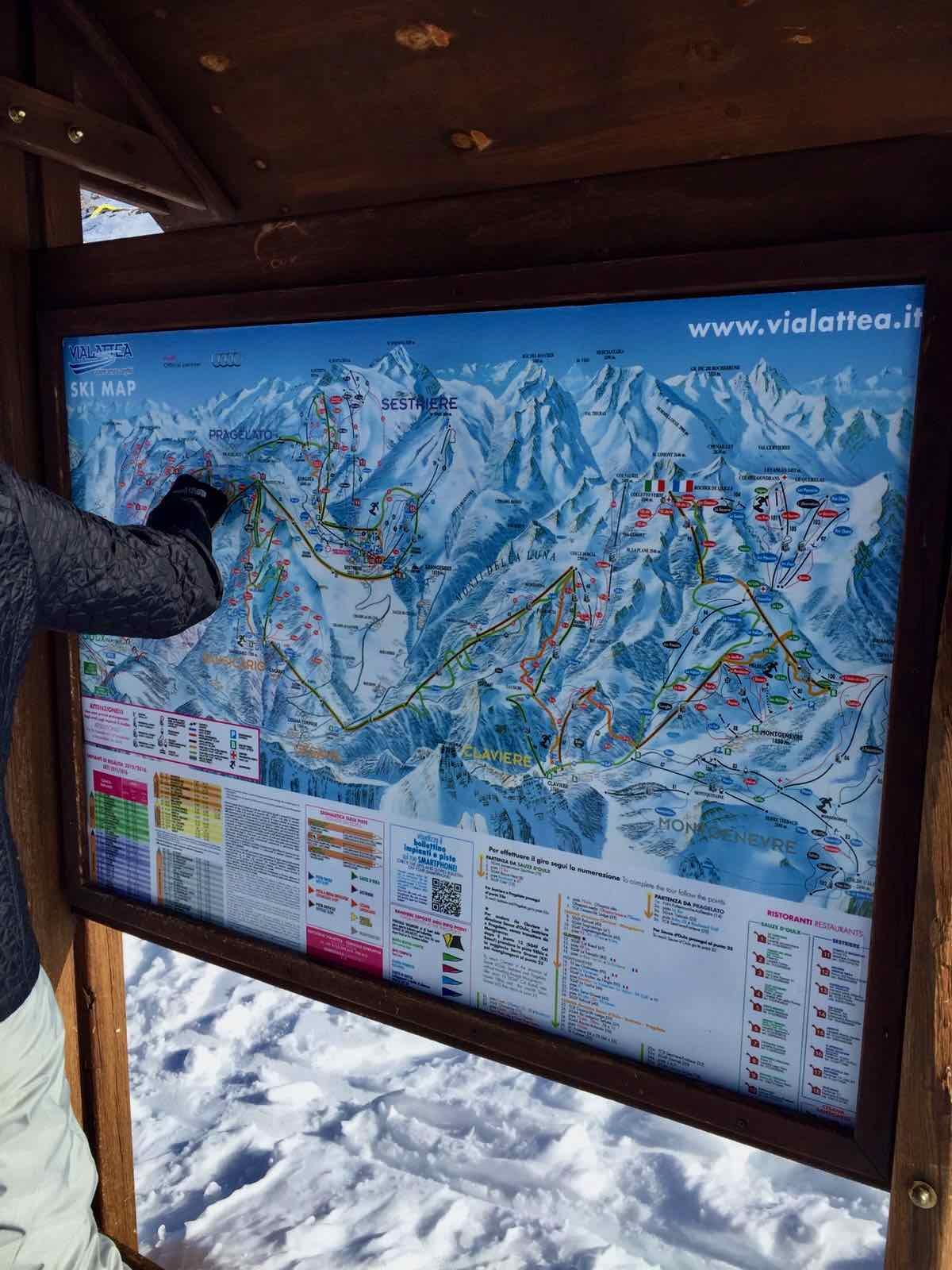 Via Lattea Ski Resort | Bucket List Adventure | The Spectacular Adventurer