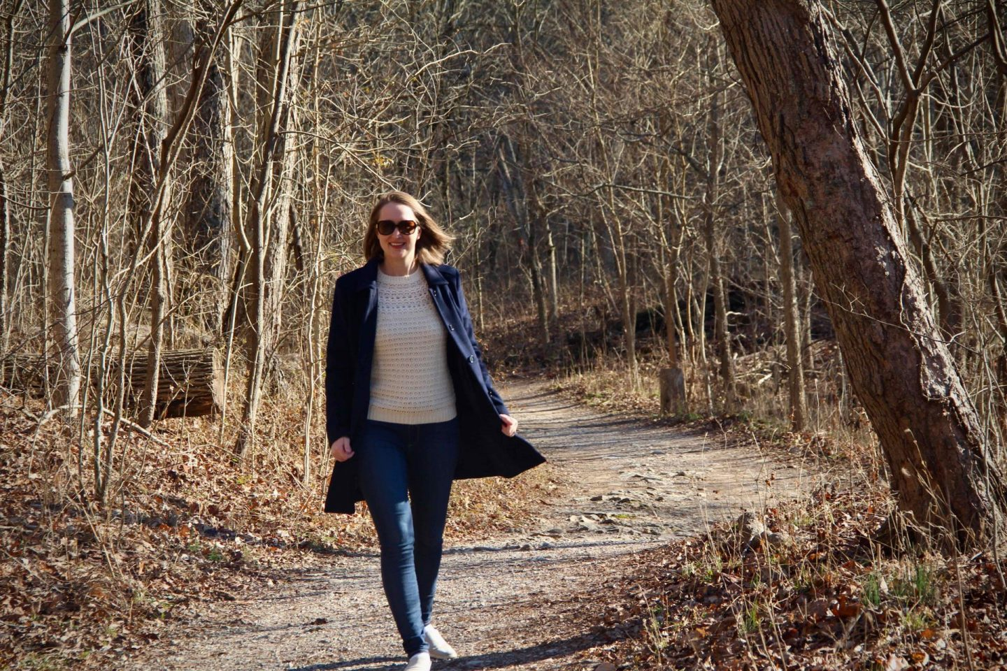Walks through Sharon Woods in Cincinnati