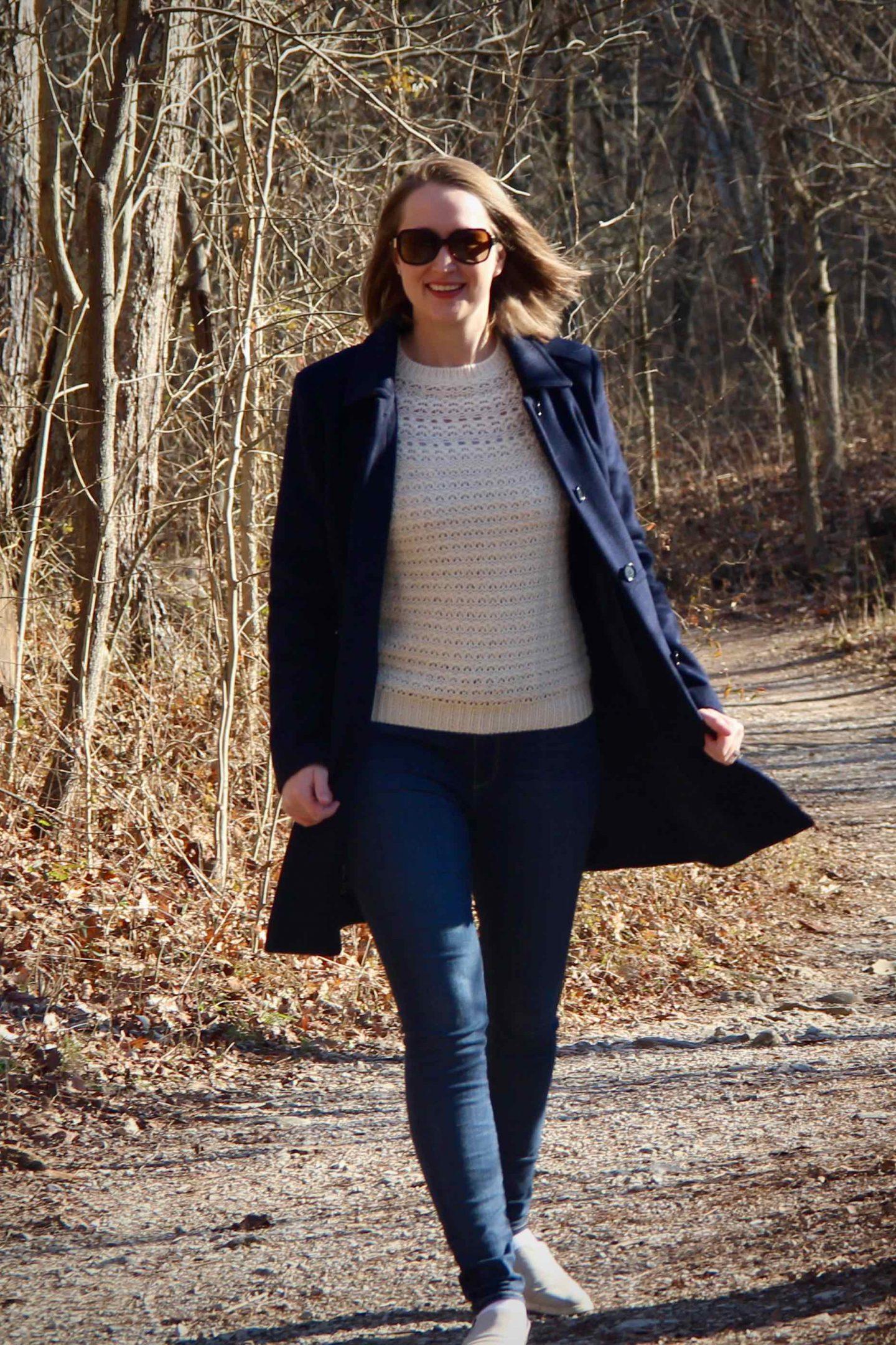 Preppy Winter Outfit Ideas | Walks through Sharon Woods | The Spectacular Adventurer