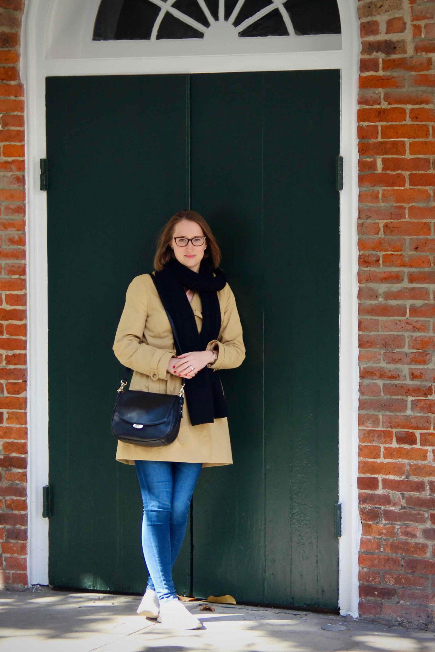 Perfect Trench Coat | Strolling Along the French Quarter of New Orleans | The Spectacular Adventurer