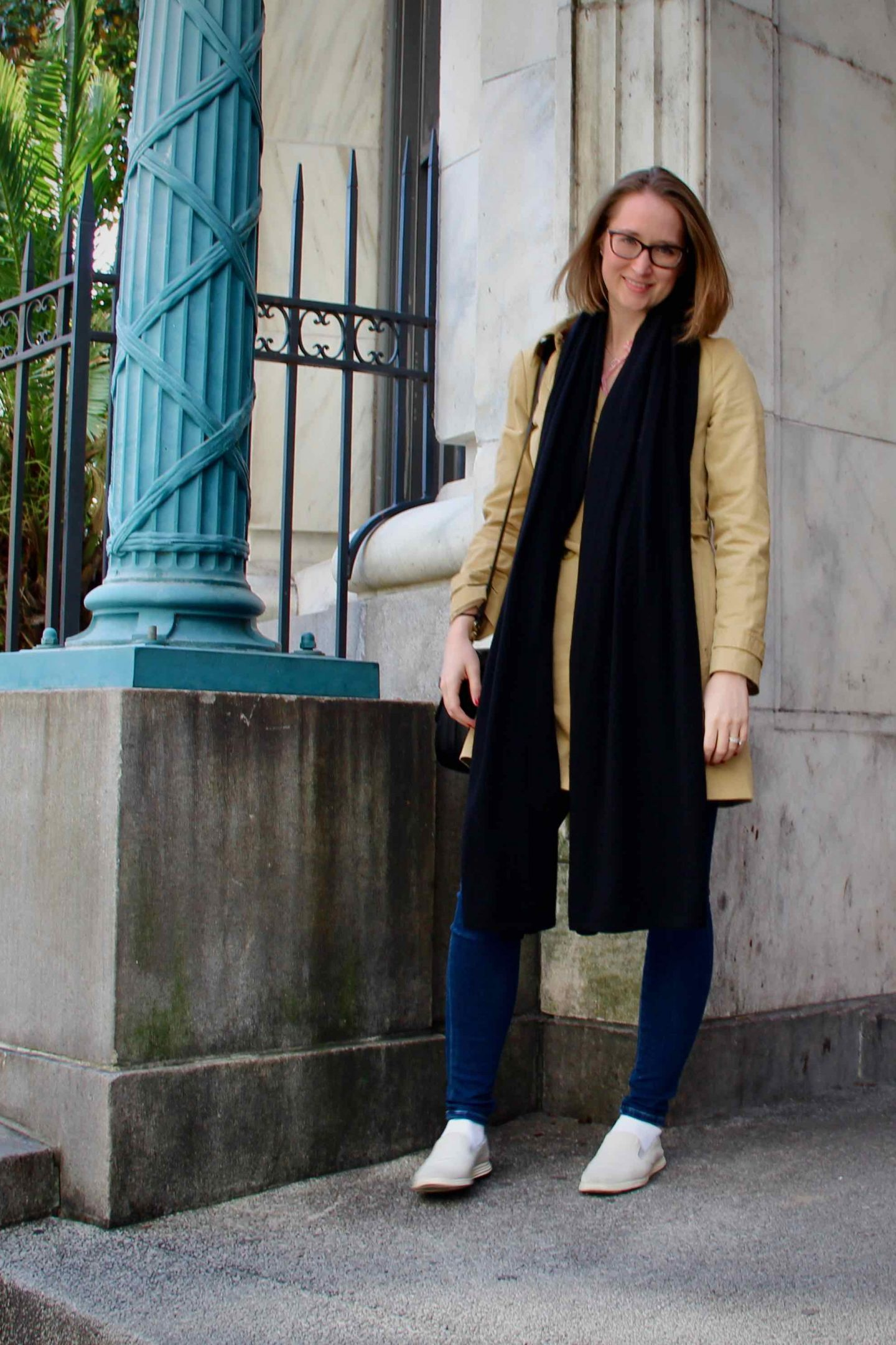 J. Crew Trench Jacket | New Orleans Packing Guide | The Spectacular Adventurer