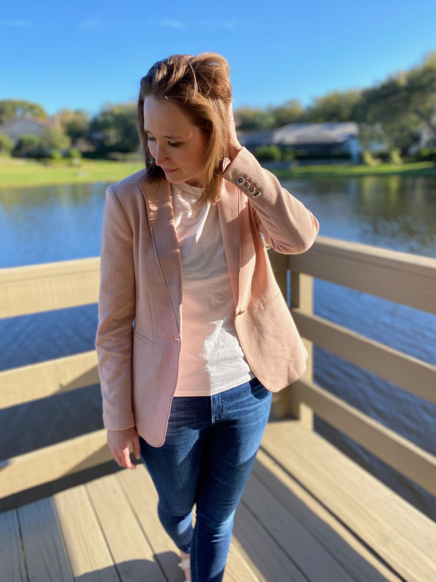 Spring 2020 Outfit Ideas for Ann Taylor Spring Blazer | The Spectacular Adventurer