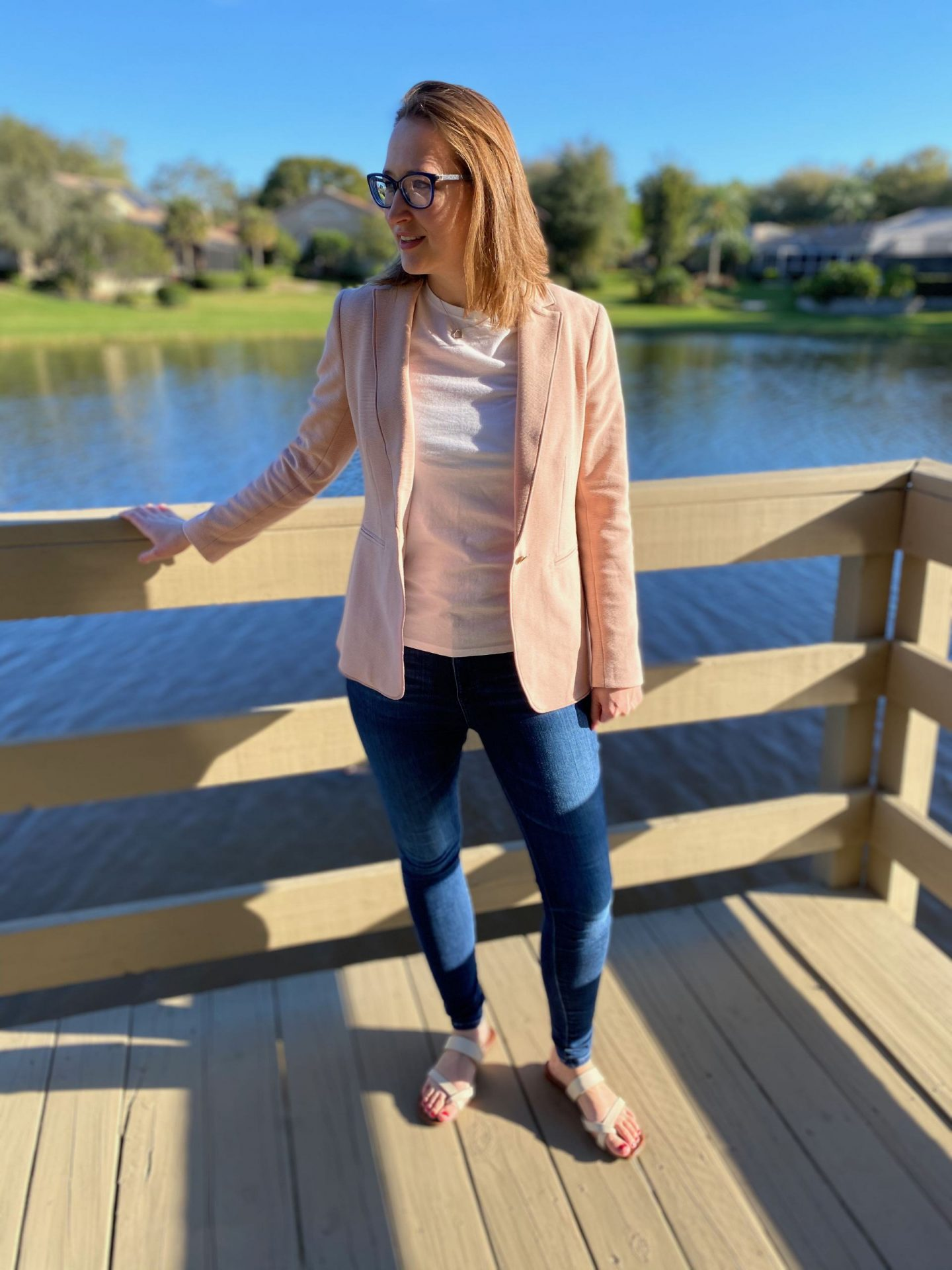 Casual Outfit Ideas for Ann Taylor Spring Blazer | The Spectacular Adventurer