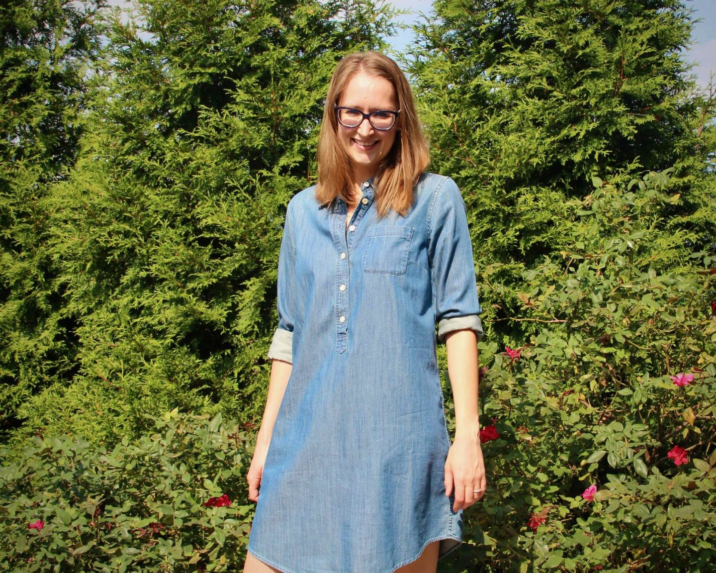 5 Things I'm Loving this September | Casual Chambray Dress | The Spectacular Adventurer