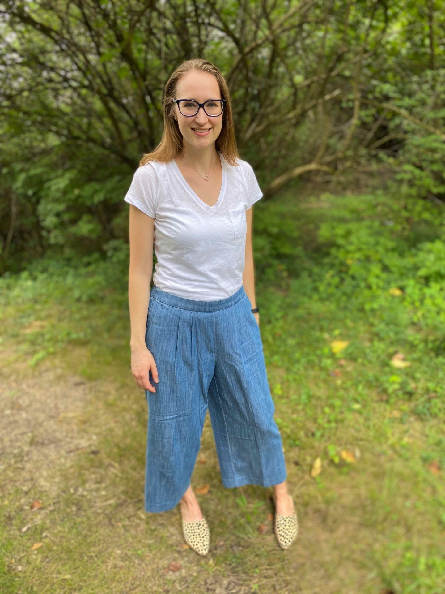 Wide Leg Pant Outfit Idea | The Spectacular Adventurer