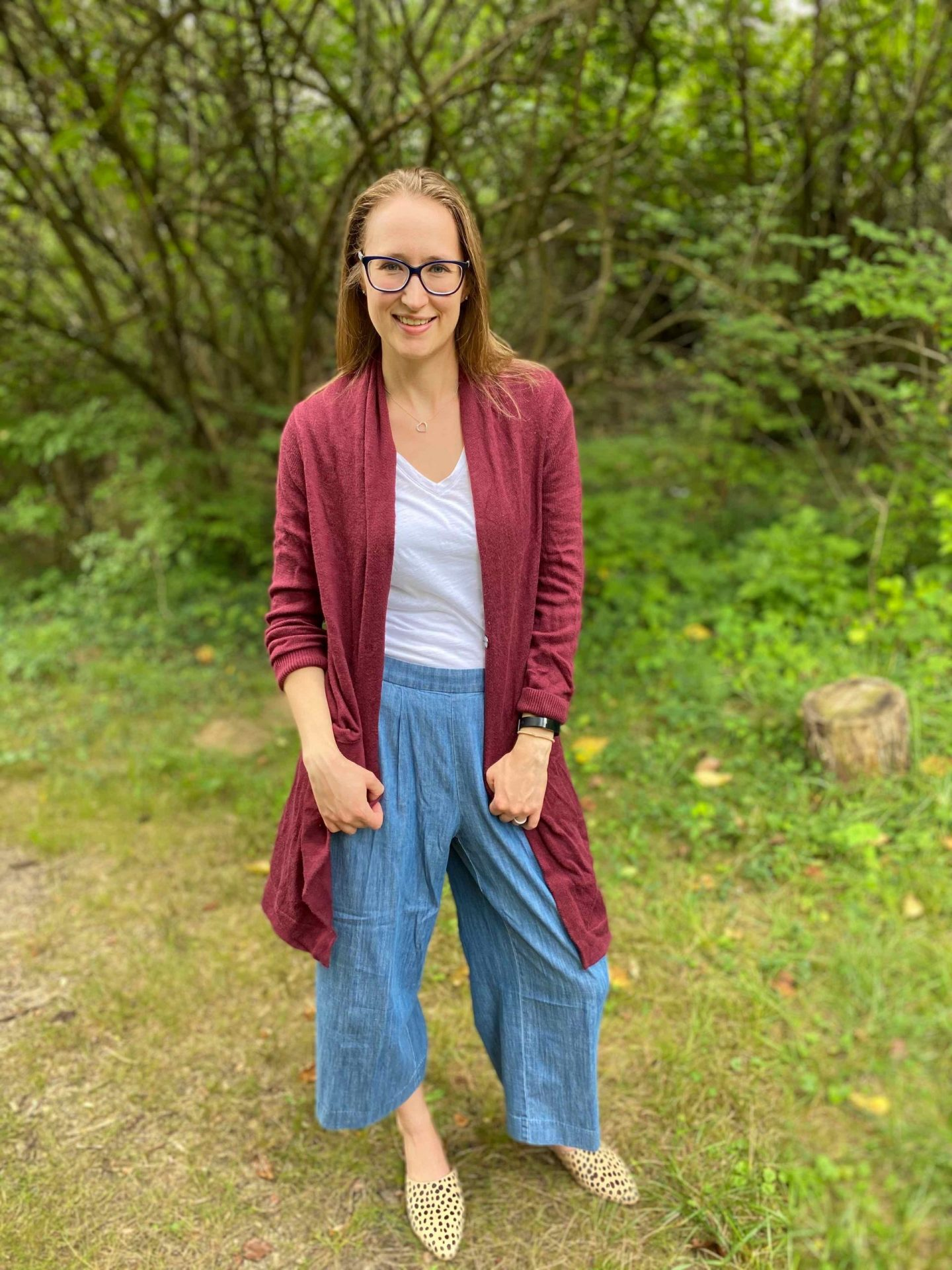 Casual Fall Denim with Wide Leg Jeans | The Spectacular Adventurer