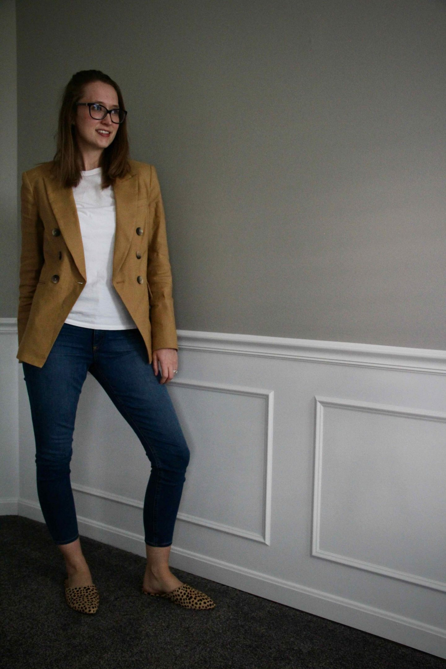 The Perfect Casual Work Blazer Outfit Idea | The Spectacular Adventurer