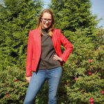 Red Veronica Beard Farley Up-Collar Dickey Jacket | My Favorite Women's Fall Blazers | The Spectacular Adventurer